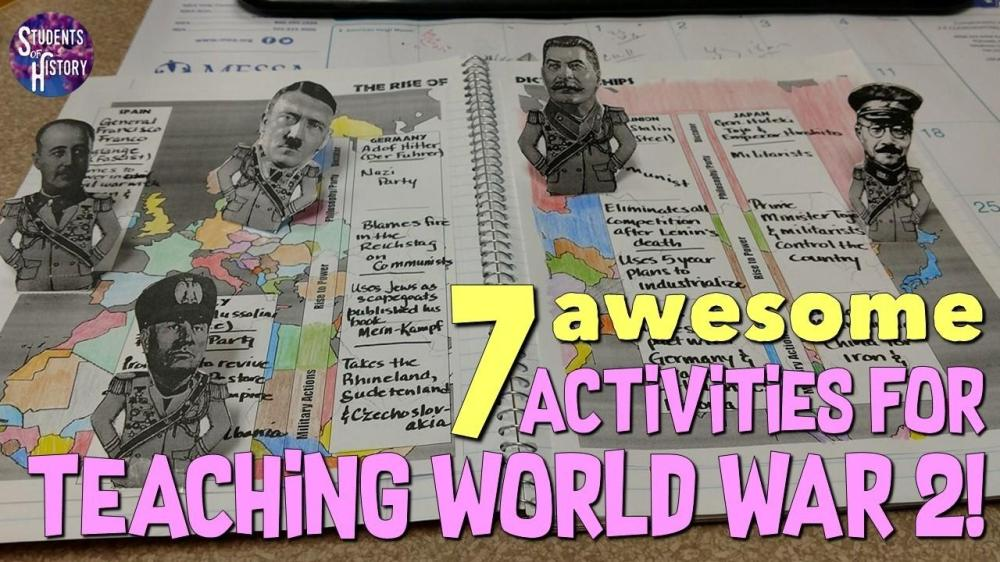 medium resolution of Seven Awesome Activities for Teaching World War 2