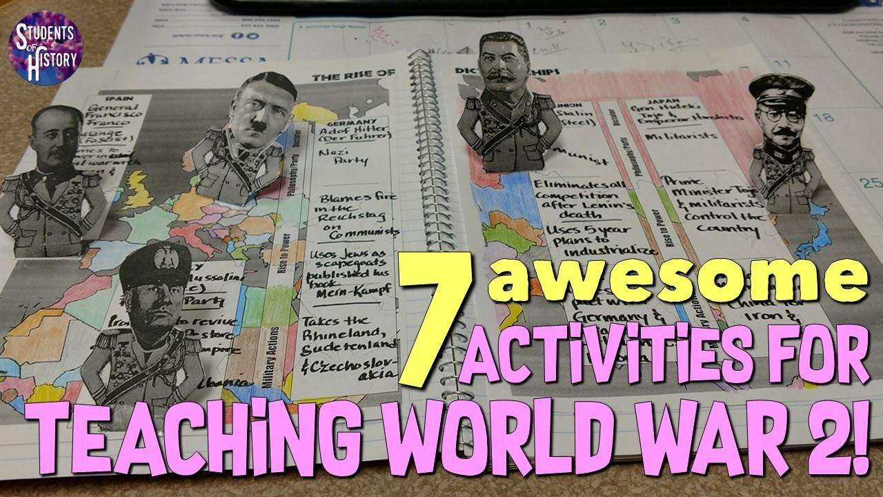 hight resolution of Seven Awesome Activities for Teaching World War 2