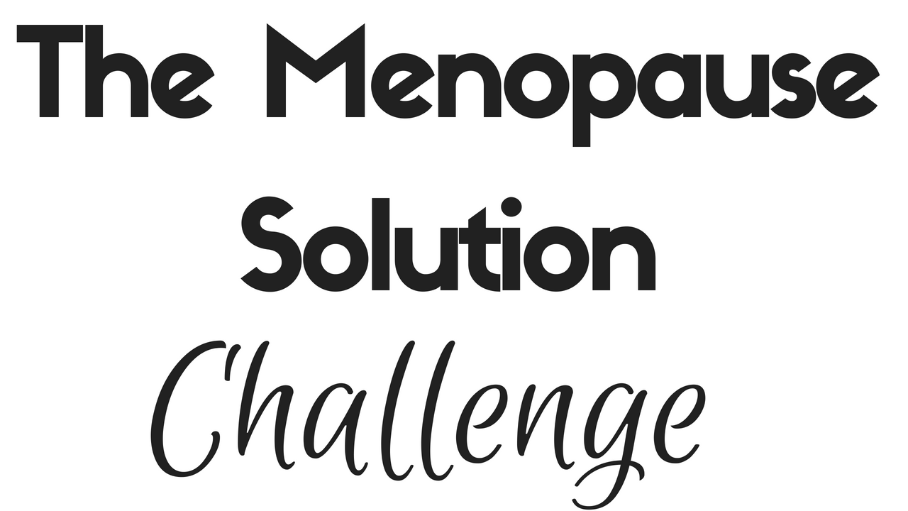 The Menopause Solution Challenge
