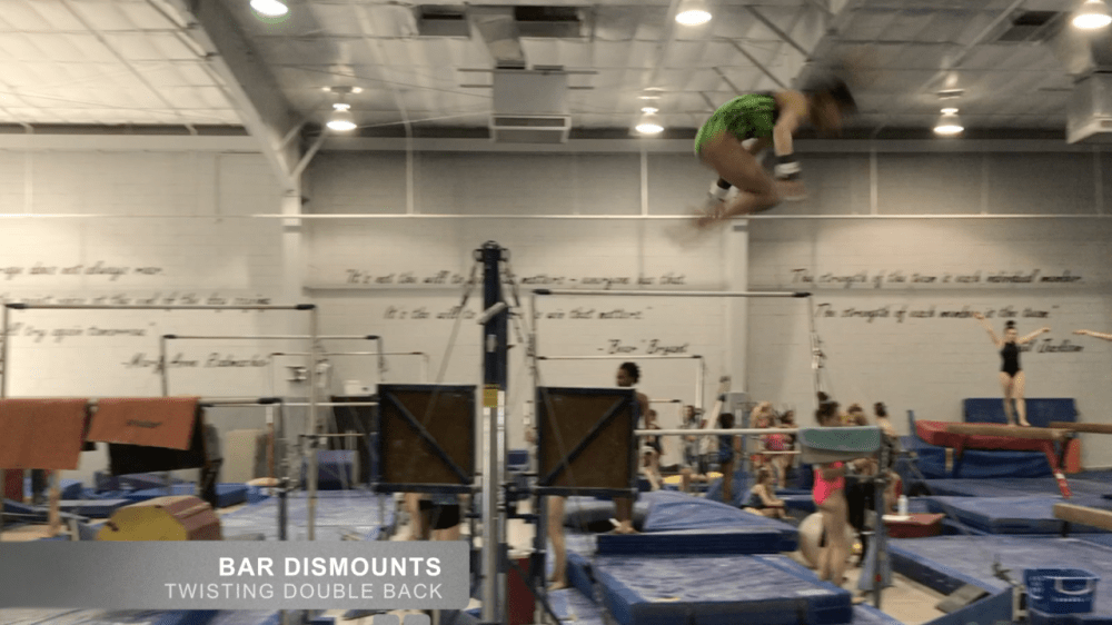 medium resolution of little gymnasts sample full twisting double uneven bars