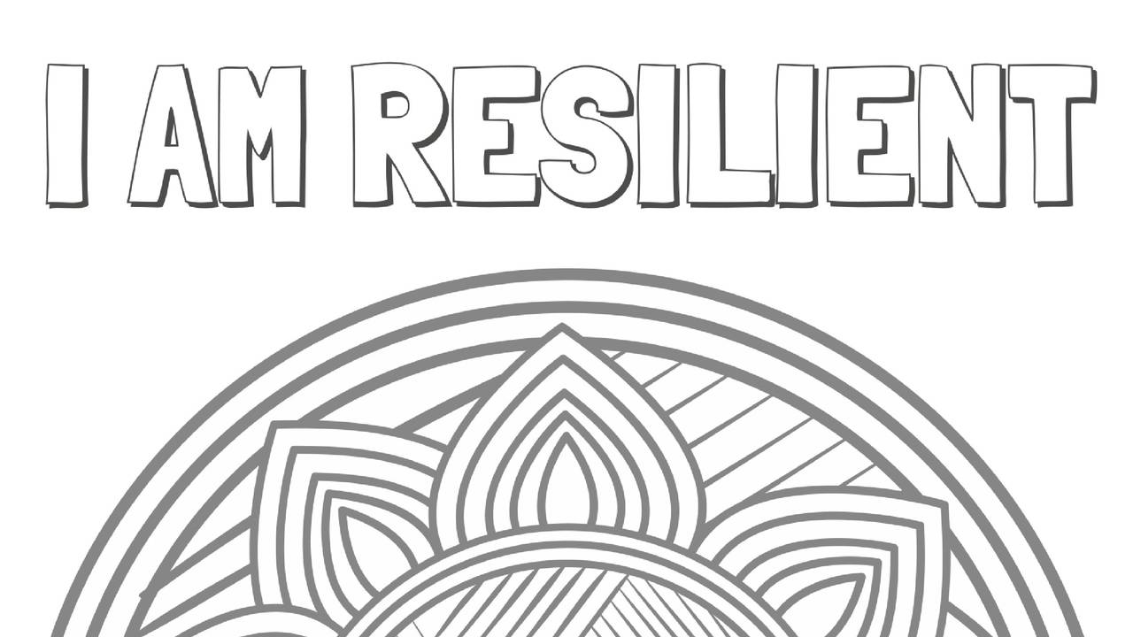Free Resilient Coloring Page