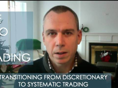 The Ego In Trading – Transitioning From Discretionary to Systematic Trading w/ Dale Miller