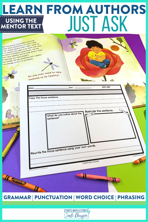 small resolution of Just Ask Book Activities