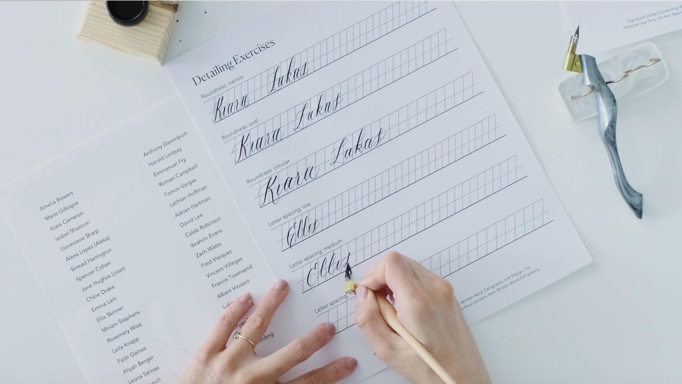 Signature Styles Course Enrolment