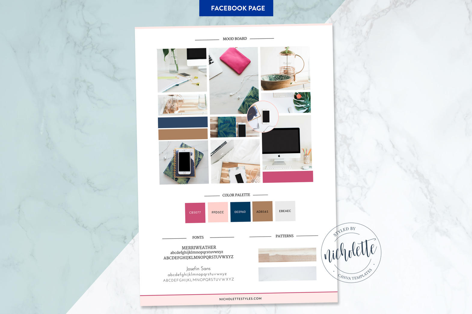 Canva Facebook Page Templates