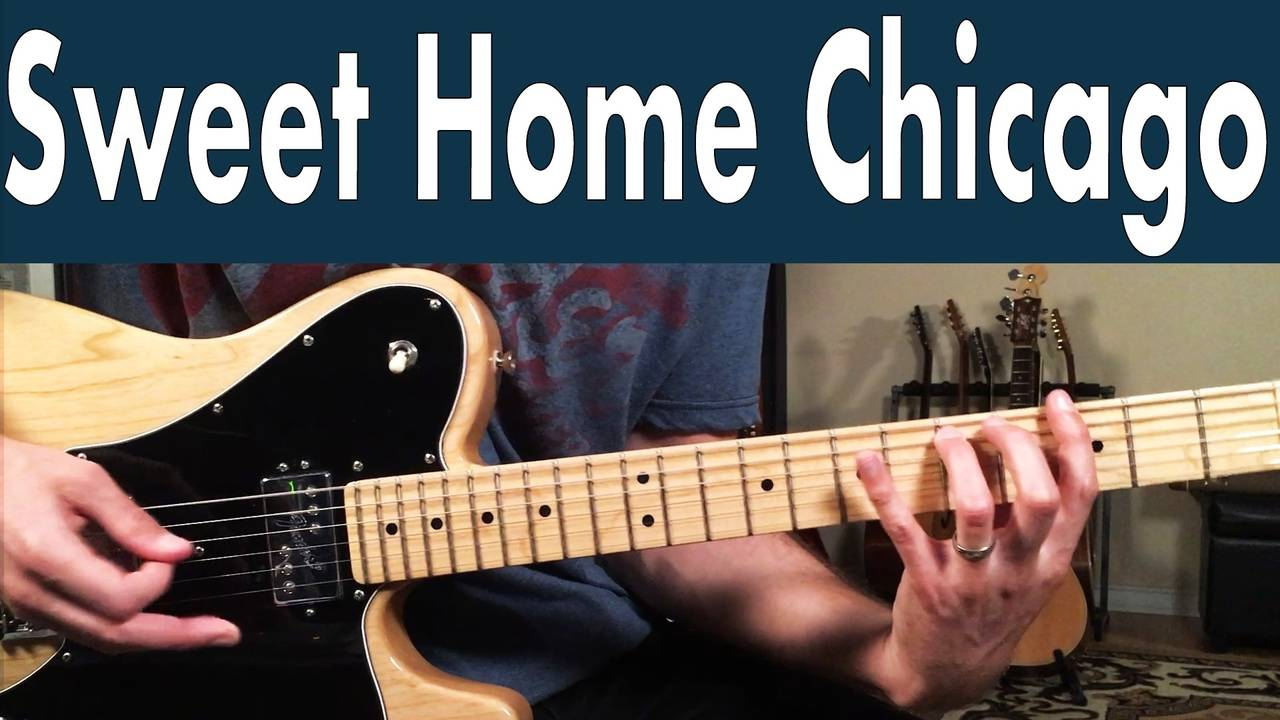 When playing the riff in the intro, play it in bars 1, 3 and 5 of the progression as seen on the chart below. How To Play Sweet Home Chicago Buddy Guy And Junior Wells