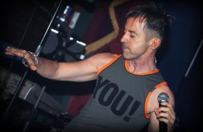 Limahl on Stage, 2012