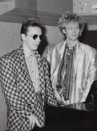 Nick and Steve, 1985