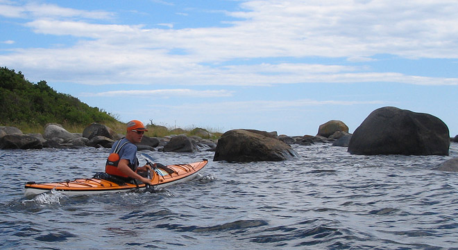 Clapotis sea kayak