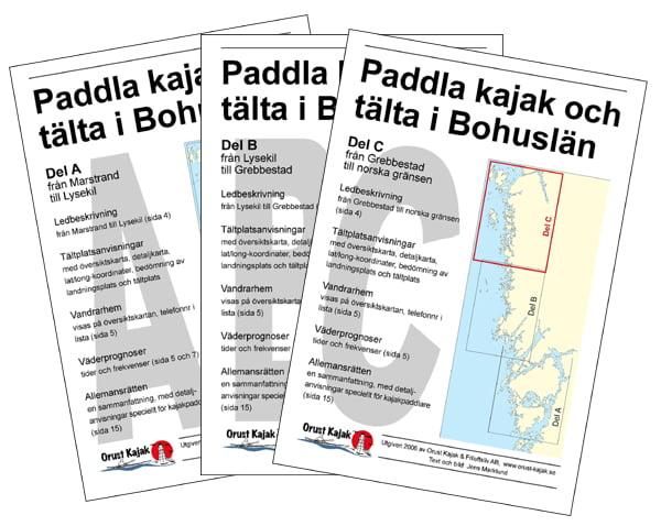 Paddla kajak och tälta i Bohuslän