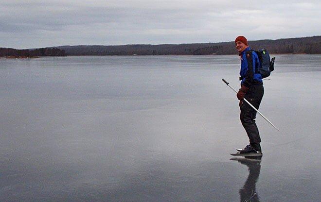 Erik på hal is
