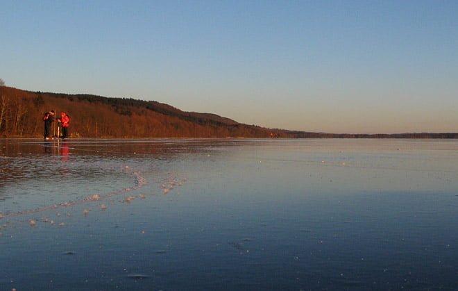 Fin is på Västersjön