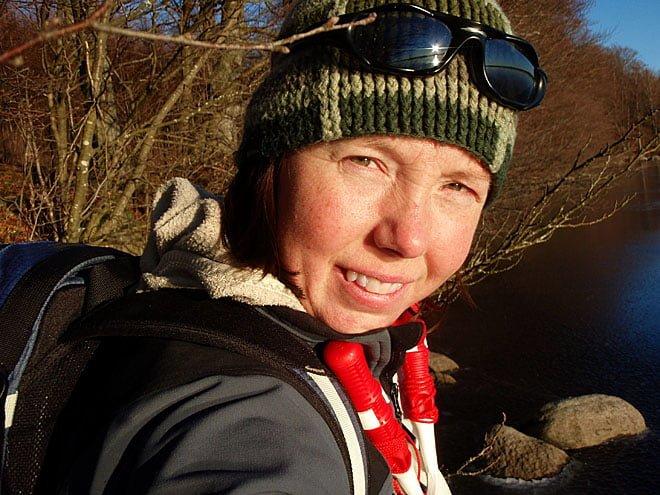 Pia Sjöstedt med isdubbarna i högsta hugg