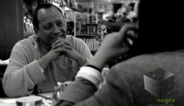 Tito Vasconcelos una charla de cafe Foto Tania del Rio