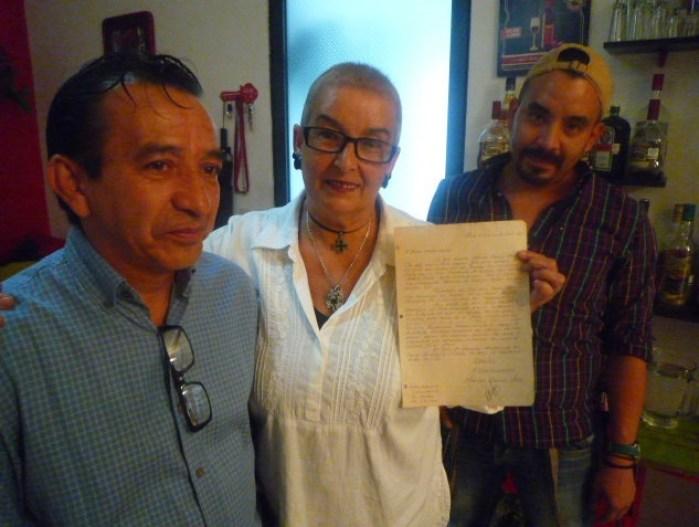 Javier Del Razo, Martha Ongay y Fernando Ongay. Foto: Claudia Altamirano.