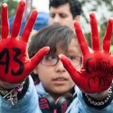Tomar las calles a un año de Ayotzinapa