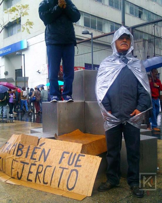 Raúl Escobar, trabaja en una asociación civil.