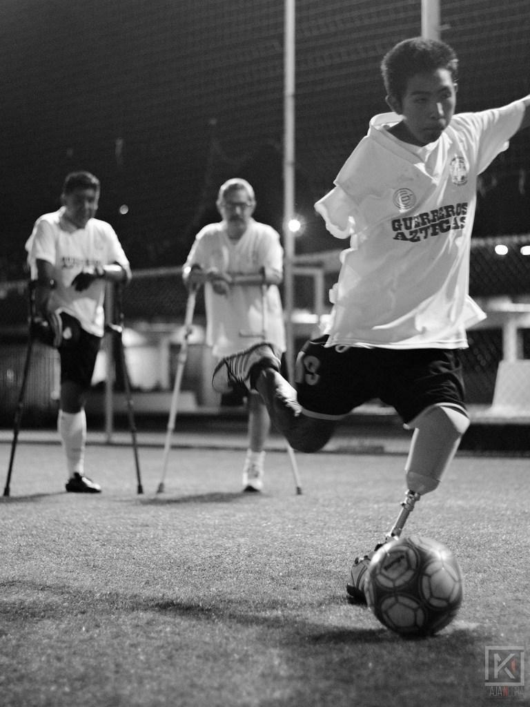 Futbol de amputados - César Palma y Samuel Segura (11)