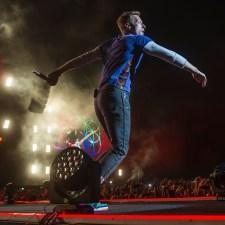 Coldplay: un manto de estrellas de colores