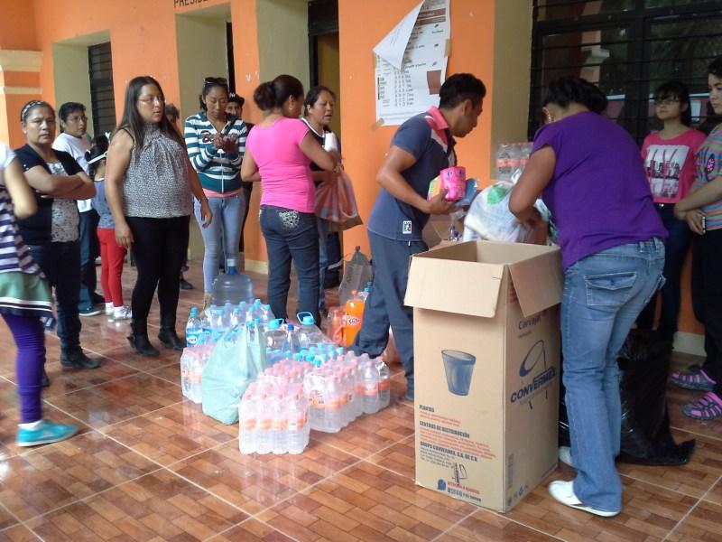 Viveres Parroquia Nochixtlán 19 junio Foto Juan Mayorga