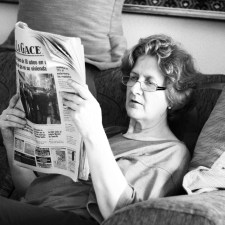 La señora Graham, fragmento de «Reportero»