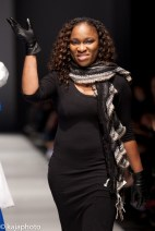 Angel Cooper herself from the University of Trinidad and Tobago's Fashion and Design Program
