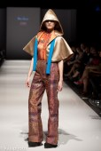 Delia Alleyne from the University of Trinidad and Tobago's Fashion and Design Program