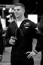 American Navy volunteer