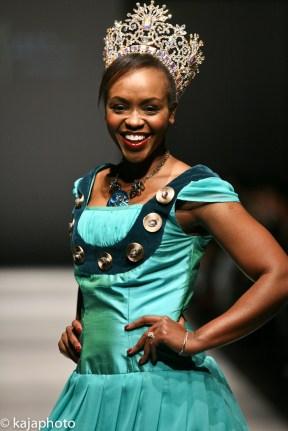 UNICEF Ambassador Solange Tuyishime wears Jana Emilia