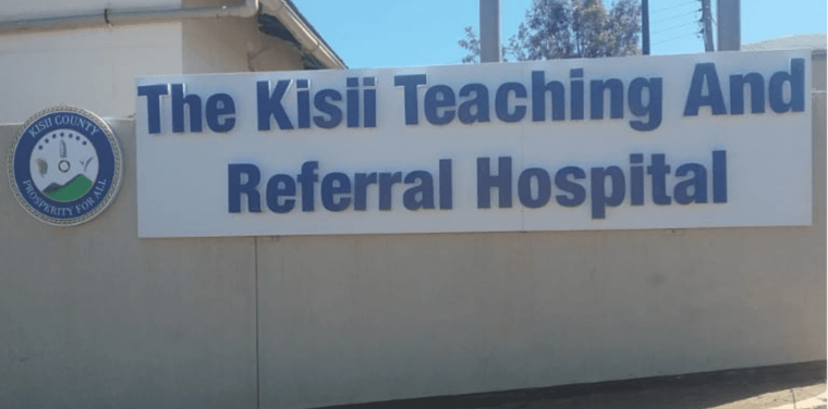 The Kisii and Teaching and Referral Hospital.