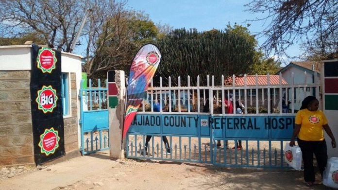 Kajiado Referral Hospital where the first case of COVID-19 death was recorded on June 3