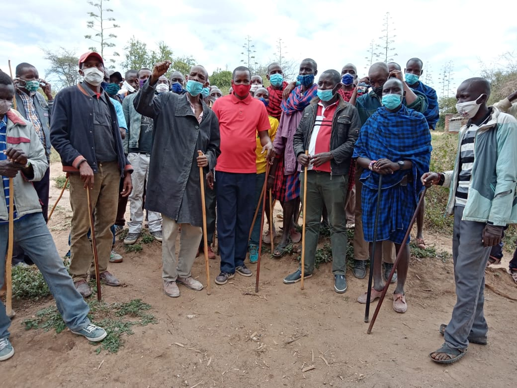Iloodokilani community youth demand that their grievances should be handled by Rift Valley regional coordinator Geotrge Natembeya.