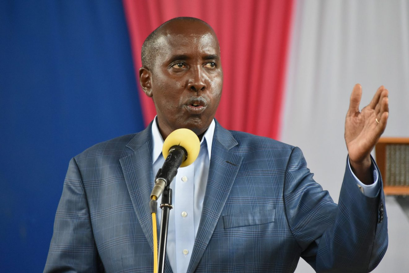 Kajiado governor Joseph ole Lenku explained that he had no idea the Maa Council of Elders would enthrone him to be the community's spokesman.