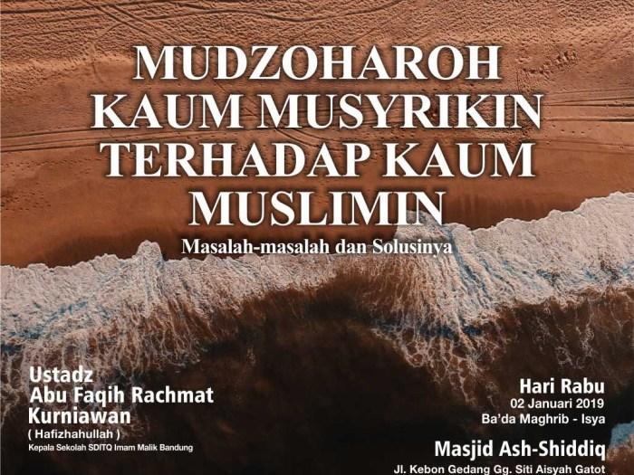 kajian nawaqidul islam