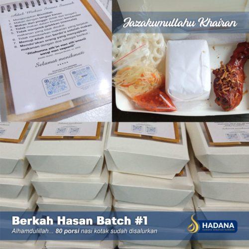 Program Berkah Hasan Batch #1