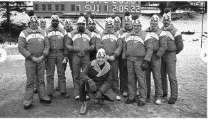1st U.S. black American winter Olympians