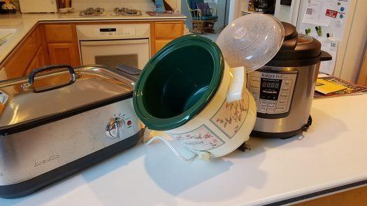 Crock Pot, Breville, Insta-Pot
