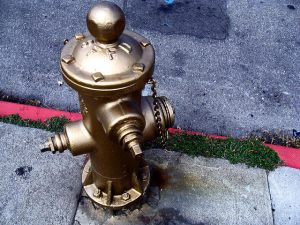 SF Golden Fire Hydrant