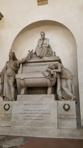 Dante's tomb, Florence.