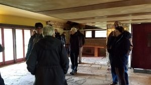 Taliesin's low ceilings