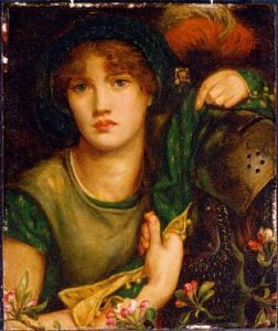 Rosetti's painting Greensleeves