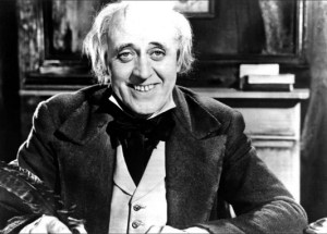 Photo Alistair Sim Scrooge