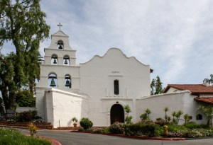 Photo of San Diego mission