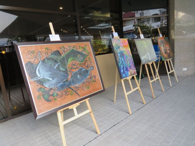 Among the art exhibitions at Hilton Kuching during R4TW 2017