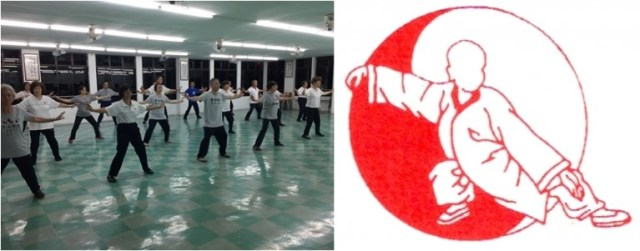 Tai-Chi practitioners at the Sarawak Shenlong Tai-Chi Chuan Society.