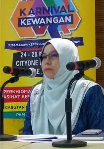 Head of Bank Negara Kuching Rosnani Mahamad Zain.