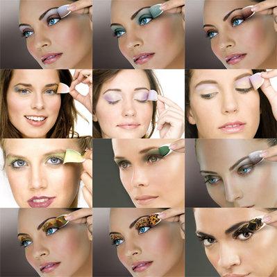 Глаза далеко друг от друга макияж