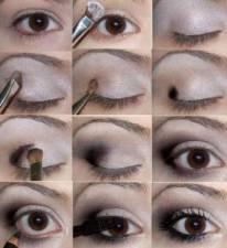 Как правильно нанести макияж глаз