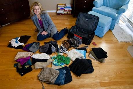 Правильно уложить чемодан