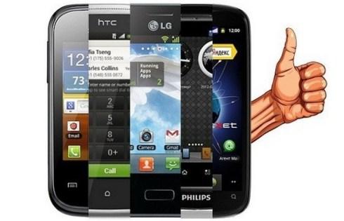 Бюджетный пятидюймовый смартфон